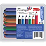 BIC GDE30 Great Erase Grip Low Odor Dry Erase Marker, Fine Point, Assorted Colors - 30 Dry Erase Markers