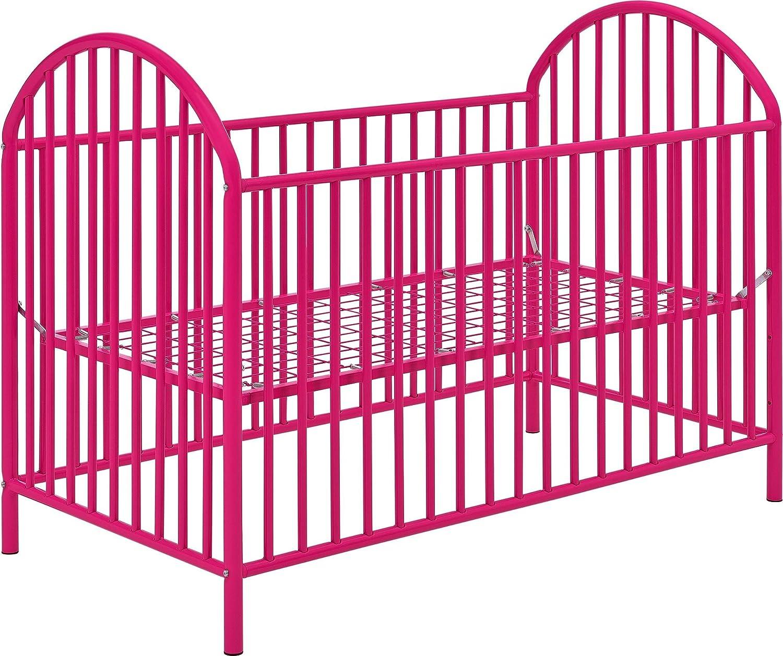 - Amazon.com : Cosco Applegate Metal Crib, Bright Pink : Baby