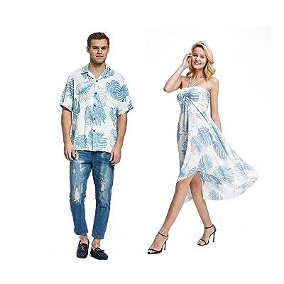 Hawaii Hangover quelques hommes correspondant à un blanc robe chemise tenue de mettre parti Luau - les femmes 2XL