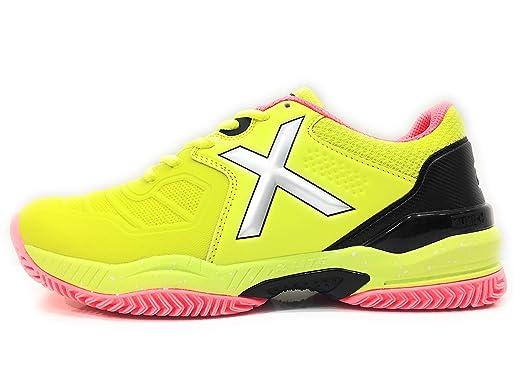 Munich Zapatillas Padel PAD2 4032011 (40 EU): Amazon.es: Deportes ...