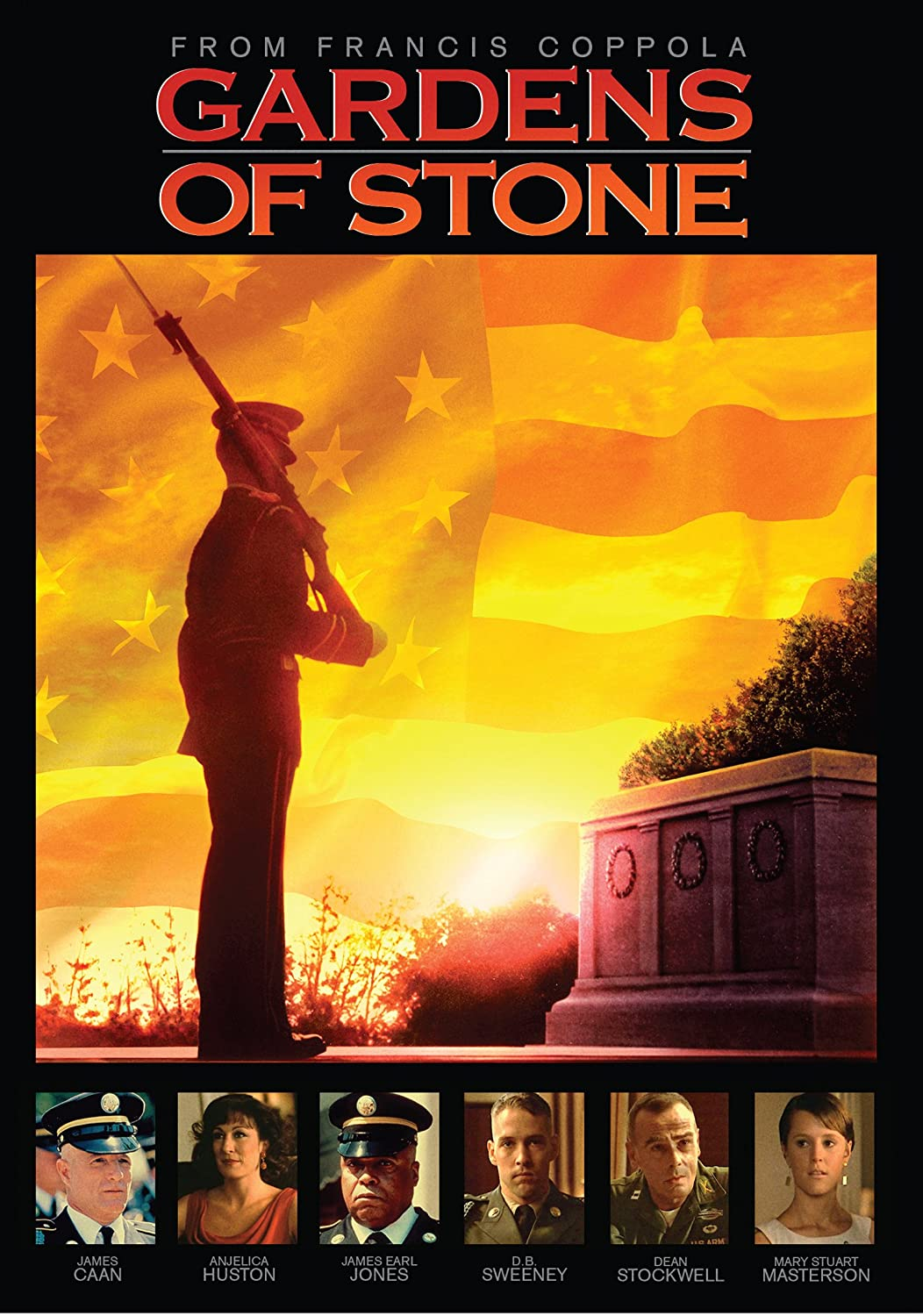 Garden Of Stone Movie Amazon gardens of stone james caan anjelica huston james amazon gardens of stone james caan anjelica huston james earl jones db sweeney dean stockwell mary stuart masterson francis ford coppola workwithnaturefo