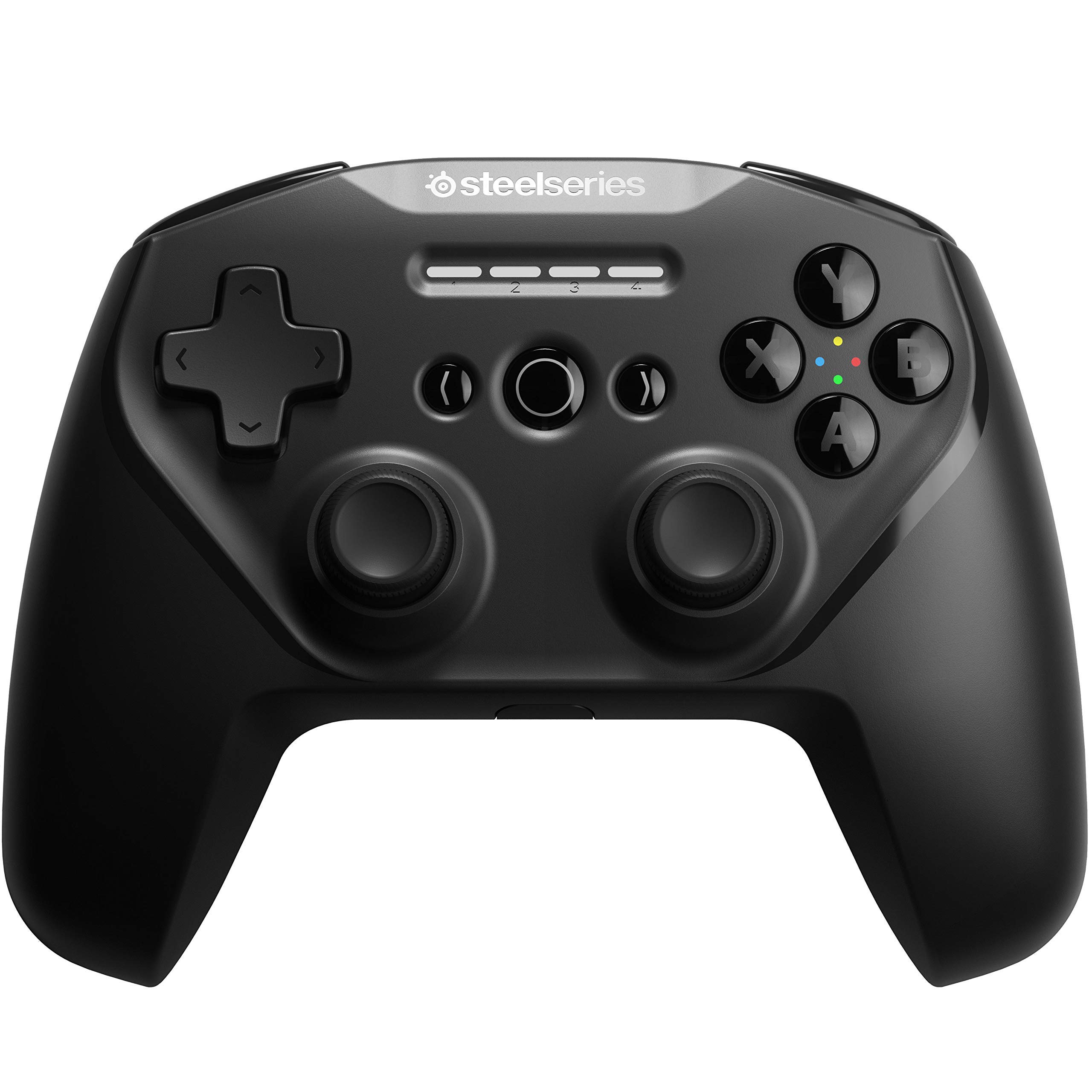 SteelSeries Stratus Duo Wireless Gaming Controller - Made for Android, Windows, and VR - Dual-Wireless Connectivity - High-Performance Materials - Supports Fortnite Mobile (Renewed)