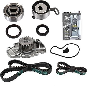 2.3 SOHC 16V VTEC F23A1 F23A4 F23A5 F23A7 Timing Belt Kit AISIN Water Pump Valve Cover Gasket Fits 94-02 Acura Honda Isuzu 2.2 SOHC 16V F22B1