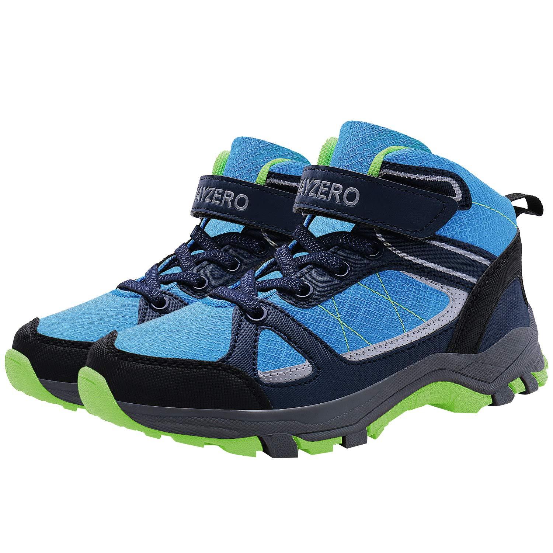 aa6bb8bfaf636 Amazon.com | MAYZERO Kids Shoes Winter Ankle Boots Non-Slip Tennis ...