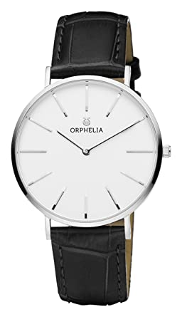 e0c45266e7 Orphelia Homme Analogique Classique Quartz Montre avec Bracelet en Cuir  OR61700