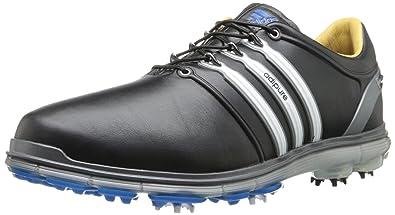 5b8190ce0fe adidas Men's Pure360 Golf Shoe,Black/White/Samba Blue,9 ...