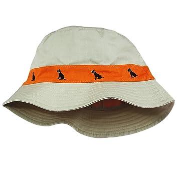 c0f9179bae2 Amazon.com  Little Me Safari Twill Bucket Toddler Boys Sun Hat Khaki ...