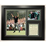 2002 Masters Champion Framed 12x15 Double Matted Photos Legends Never Die Tiger Woods