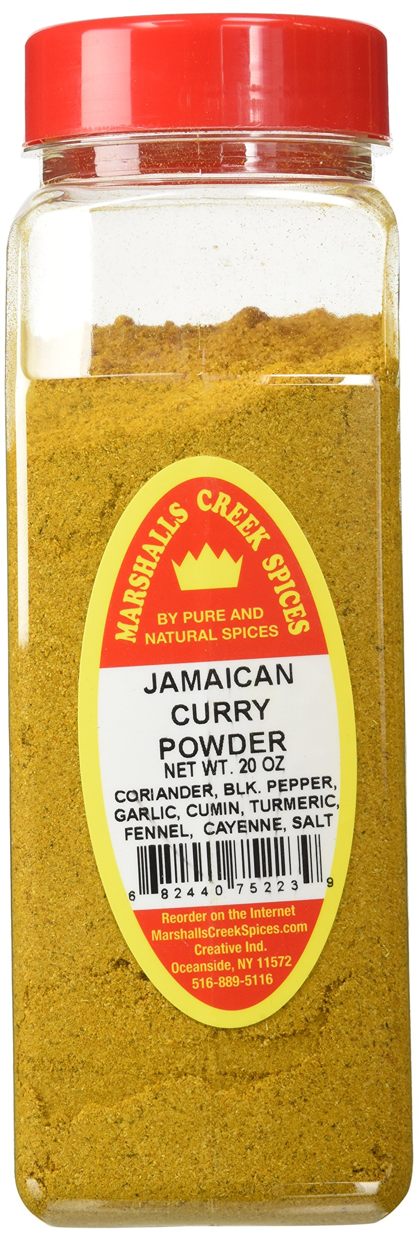 Marshalls Creek Spices X-Large Size Jamaican Curry Powder, 20 Ounces