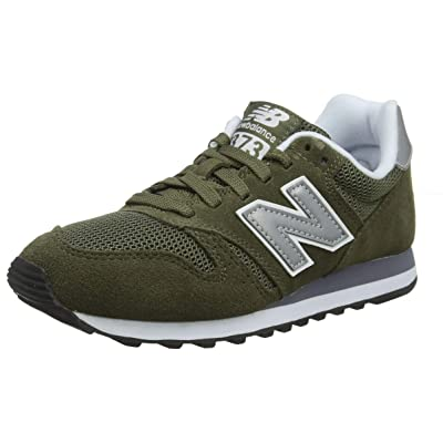 New Balance Men's Ml373V1 Trainers, Green (Olive/Silver OLV), 8.5 UK 42 1/2 EU | Fashion Sneakers