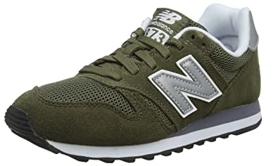 green new balance men's trainers