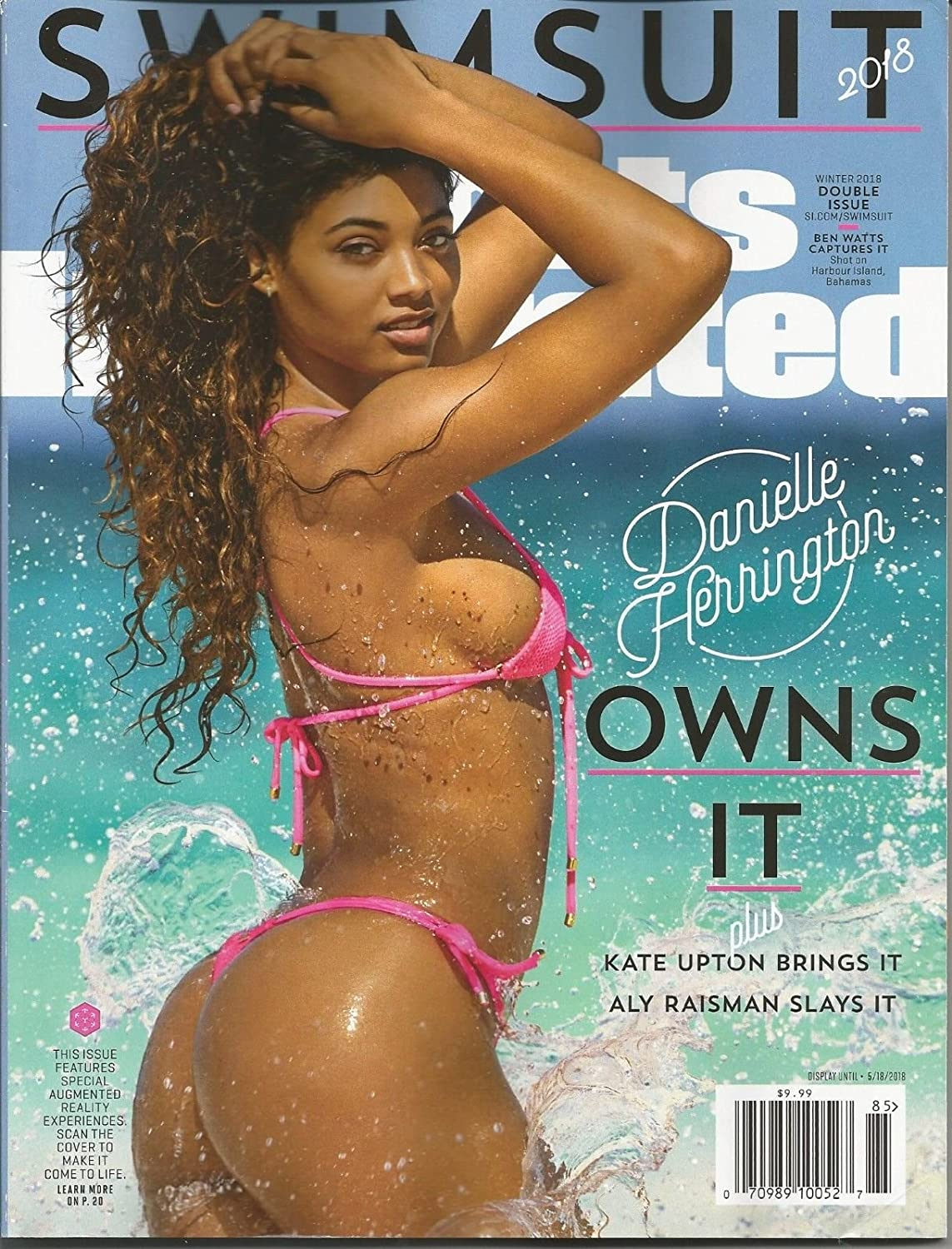 SPORTS ILLUSTRATED MAGAZINE SWIMSUIT DOUBLE ISSUE, WINTER, 2018 s3457