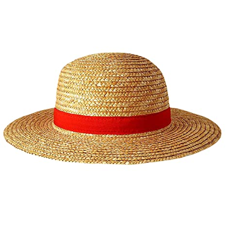 d960b471a1b37 One-piece 599386031 - Sombrero de Paja Luffy Adulto.  Amazon.es ...