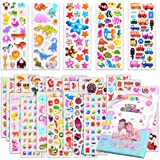 Kids Stickers 1000+, 40 Different Sheets, 3D Puffy Stickers for Kids, Bulk Stickers for Girl Boy Birthday Gift, Scrapbooking,