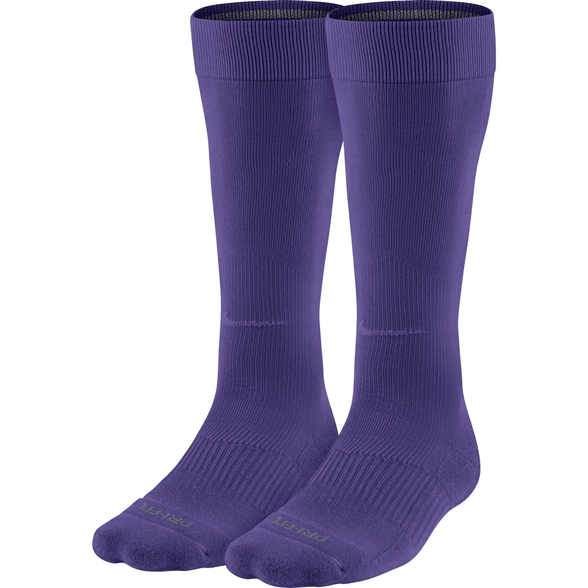 Nike Performance Knee-High Baseball Sock Court Purple Size Large by Nike
