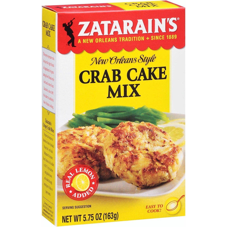 Zatarain's Crab Cake Mix, 5.75 Ounce