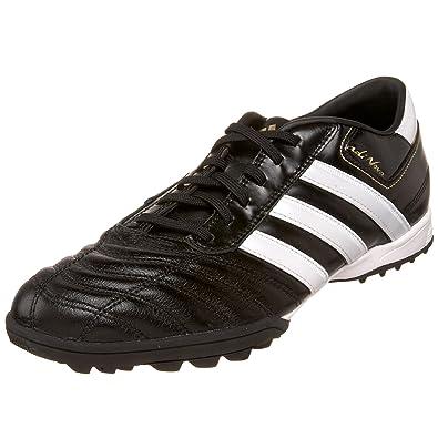 adidas uomini adinova ii trx tf scarpa da calcio, nero / bianco