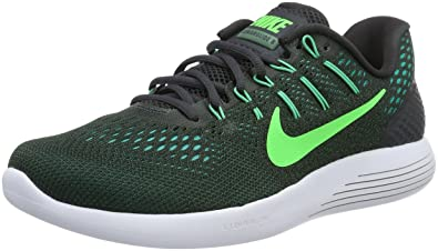 best sneakers eeffe aa0f1 Nike Lunarglide 8 Mens Running Trainers 843725 Sneakers Shoes (US 7,  Anthracite Rage Green