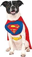DC Comics Superman Cape With Chest Piece Pet Costume