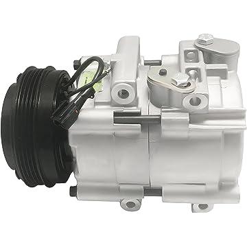 RYC Remanufactured AC Compressor and A/C Clutch EG190