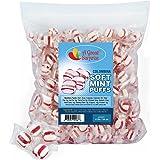 Mint Candy - Soft Peppermint Puffs - Colombina Hard Candy - Bulk Candy 4 LB