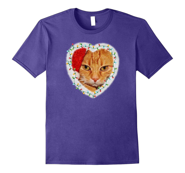Abyssinian Cat Cute Meow Christmas Kitten Tee Shirt-AZP