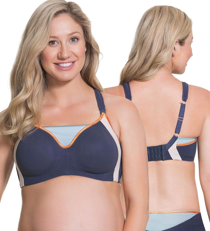 Cake Maternity Zest Nursing Sports Bra for Breastfeeding, Sports Maternity Bra at  Women's Clothing store