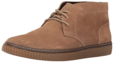 Johnston & Murphy Men's Wallace Chukka Boot, Taupe Water Resistant Suede,  ...
