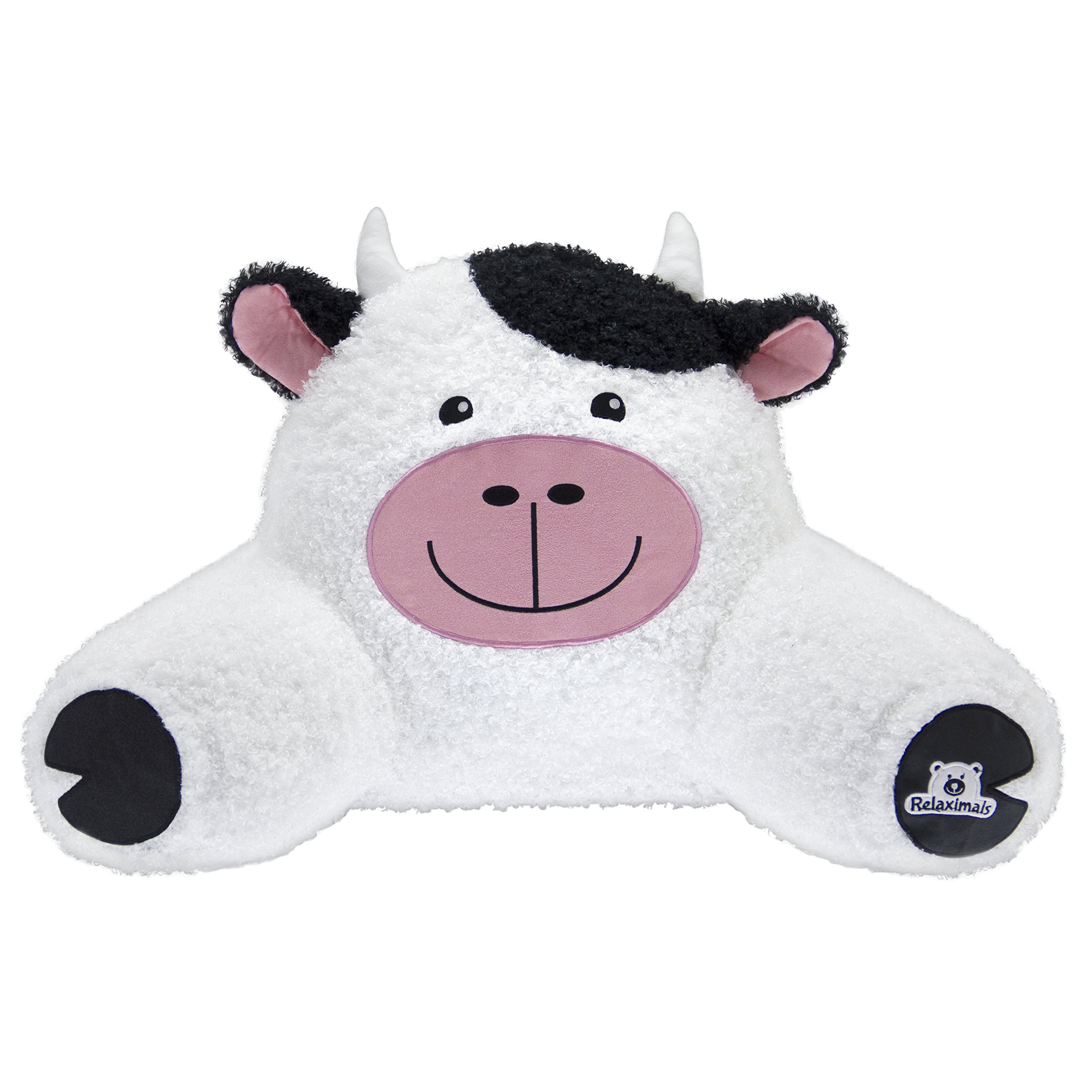 Relaximals Cow Kids Reading Pillow