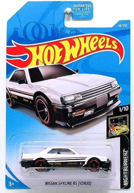 #48 ✰ Blanco o Nightburnerz Al 2019 i Hot Wheels Ww KDR30 Nissan Skyline Rs