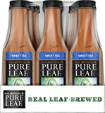 Amazon Price History for:Pure Leaf Iced Tea, Sweet Tea, Real Brewed Black Tea, 18.5 Ounce Bottles (Pack of 12)