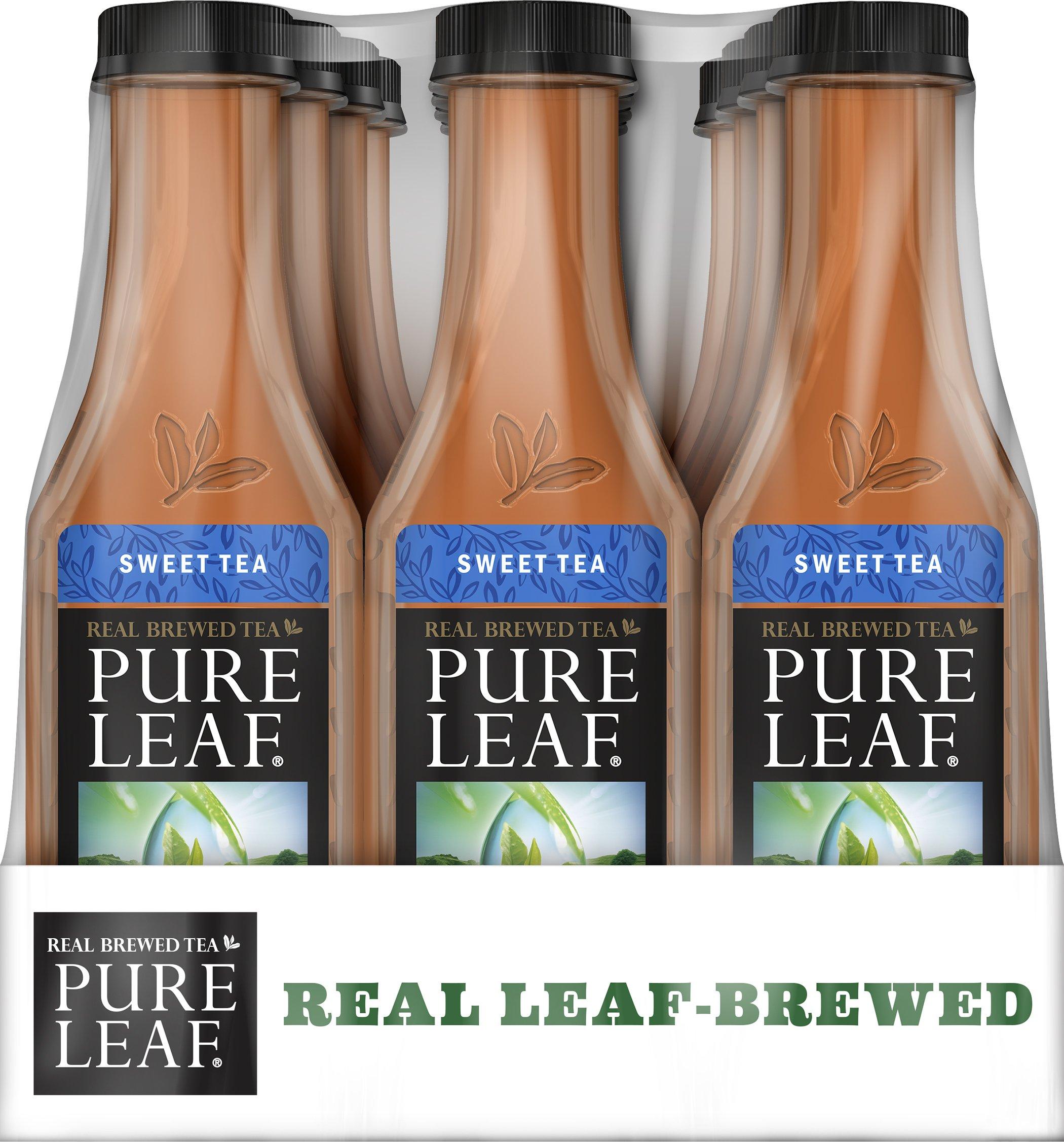 Amazon.com : Pure Leaf Sweet Tea, 18.5 Oz (Pack of 12) : Bottled Iced Tea Drinks : Grocery