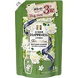 【大容量】 レノア ハピネス 柔軟剤 ミスティグリーン&ジャスミン 詰替用 超特大サイズ 1.4L