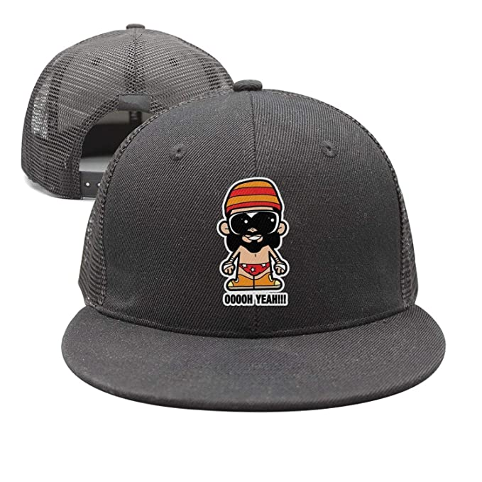 87e3028f55cc8e Cymgeix Baseball Cap Macho-Man-Randy-Savage-Ooooh-Yeah- Cool Snapbacks Cap  Baseball Trucker Hats Unisex at Amazon Men's Clothing store: