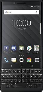 BlackBerry KEY2 Black Unlocked GSM Android Smartphone 4G LTE, 64GB