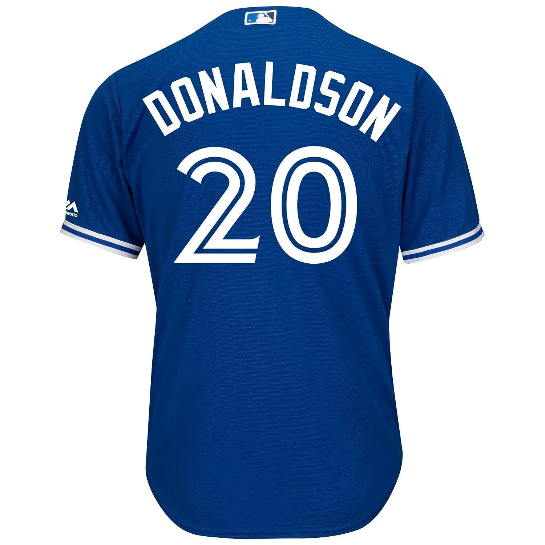 9fad3ce92 Josh Donaldson Toronto Blue Jays Cool Base Replica Away Jersey: Amazon.ca:  Clothing & Accessories
