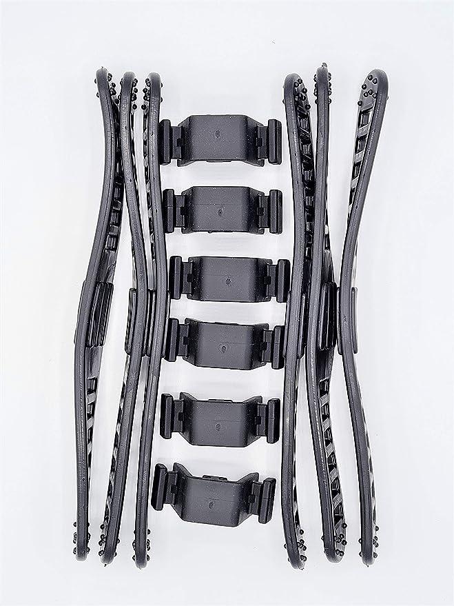 Thule Fahrradträger Bandhalterung Gummi Schwarz 6 Stück Auto
