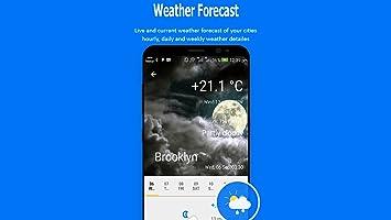 Amazon com: Weather Forecast- Hourly & Weekly Weather+Widgets
