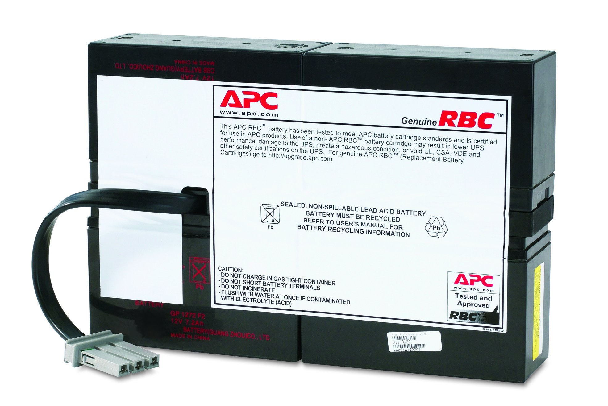 Amazon.com: APC UPS Battery Replacement for APC Smart-UPS Model SC1500  (RBC59): Electronics