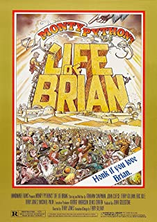The Life Of Brian Classic Large Movie Poster Art Print A0 A1 A2 A3 A4 Maxi