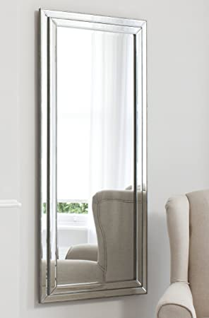 extra large silver full length wall mirror home depot mounted with storage white uk