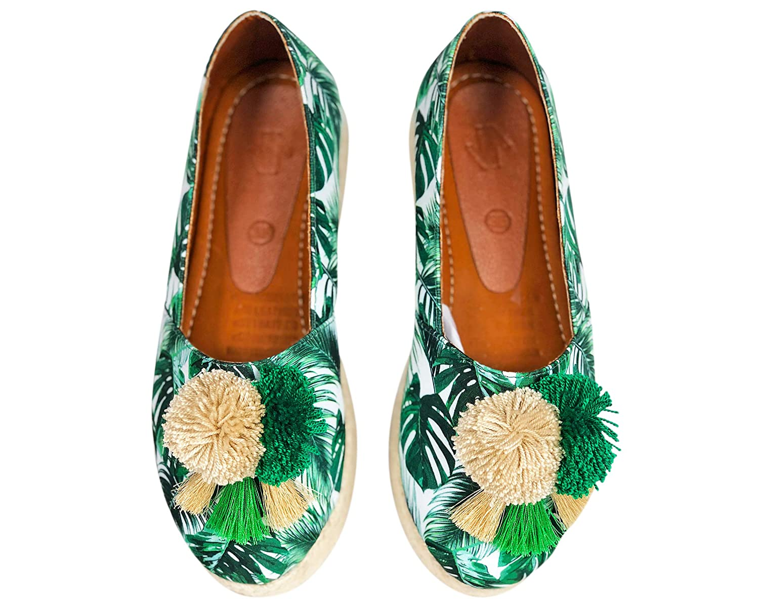 Amazon.com | Vida Leather Moccasin Slippers for Women ...