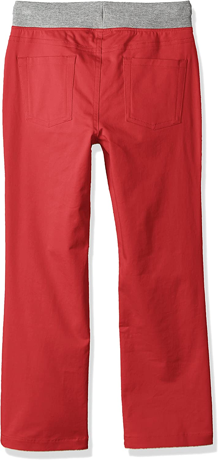 Spotted Zebra Boys Pull-On 5-Pocket Pants Casual Pants