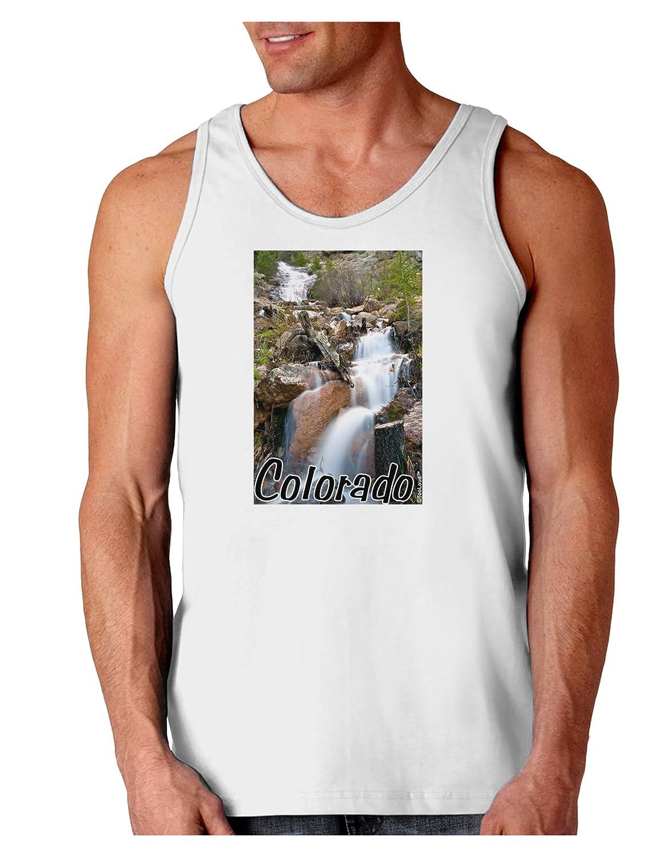 TooLoud Colorado Waterfall Scene Text Loose Tank Top