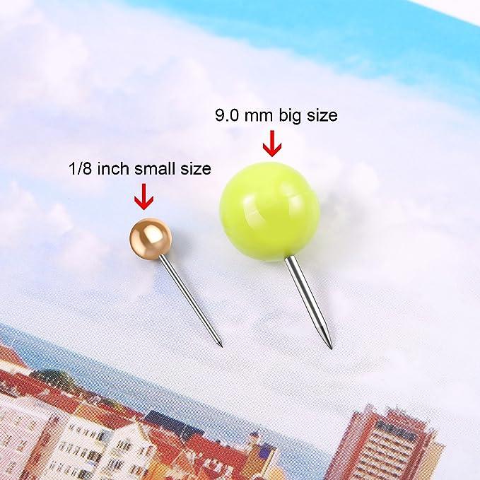 9,0 mm Gro/ßer Kopf Push Pins 100 St/ücke