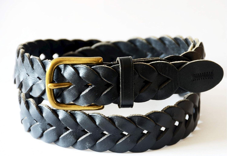Polo Ralph Lauren Mens Braided Belt Slim Black 32