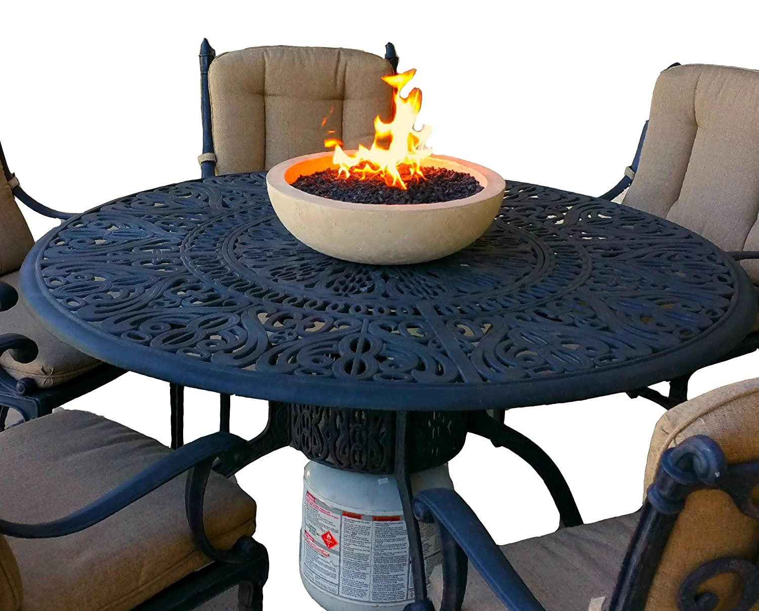 Cleaning Fire Pit : Cleaning propane fireplace burner fire place heater
