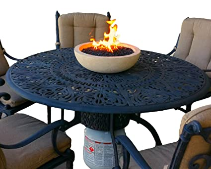 Elegant Table Top Propane Fire Bowl