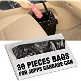 KMMOTORS Customized Plastic Bags in Box Only for Jopps Foldable Car Garbage Can Patented Car Wastebasket Comfortable Car Mini