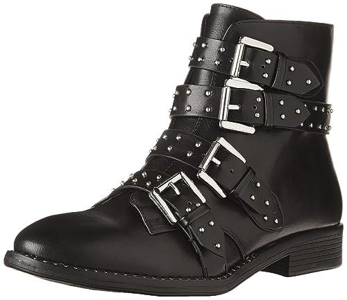952a5c03153 Steve Madden Women's Reena Ankle Boot, Black, 36 EU / 5.5-6 M US ...